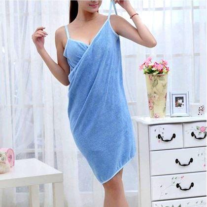 Obrázek z Ručníkové šaty - modré