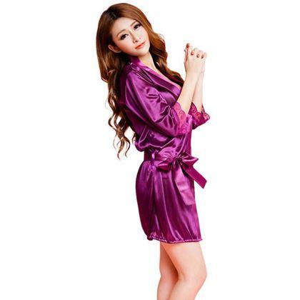 Obrázek z Sexy župan - fialový