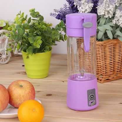 Obrázek USB smoothie mixér - fialový