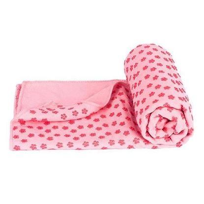 Obrázek Protiskluzový ručník - růžový