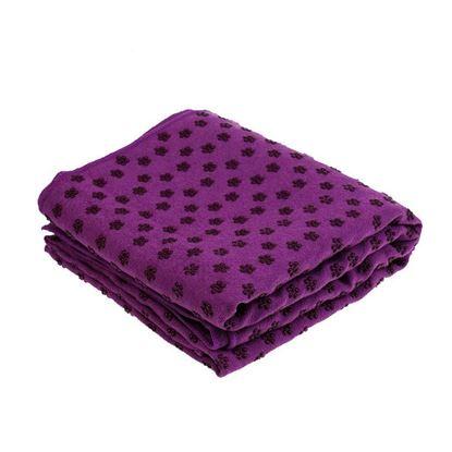 Obrázek Protiskluzový ručník - fialový