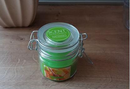 Obrázek Vonná svíčka - med a meloun