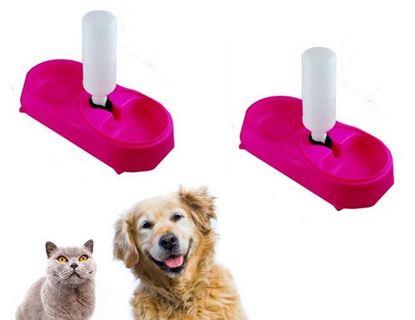 Obrázek Pet Feeder - Automatický dávkovač krmiva - růžový