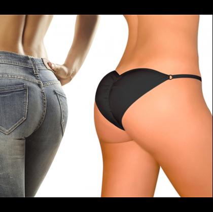 Obrázek z Push-up kalhotky Brazilian Secret - černé - XL