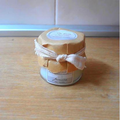 Obrázek Svíčka z přírodního vosku - jasmín