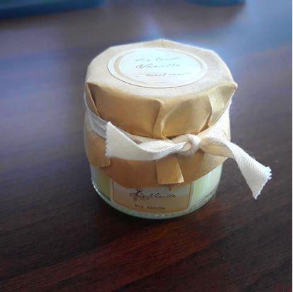 Obrázek Svíčka z přírodního vosku - vanilka