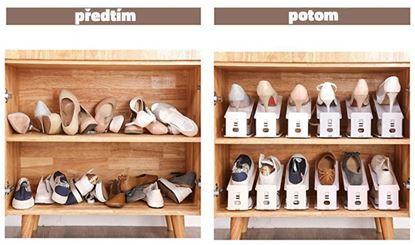 Obrázek Plastový organizér na boty - sada 50 ks