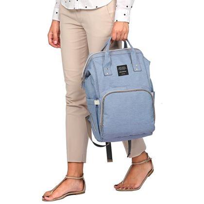 Obrázek z Batoh pro maminky - modrý