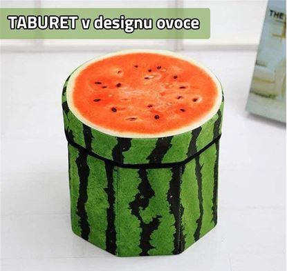 Obrázek Taburet - meloun
