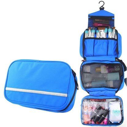 Obrázek Cestovní organizér na kosmetiku - modrý