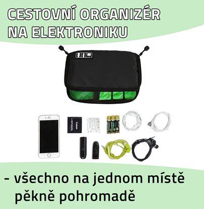 Cestovní organizér na elektroniku