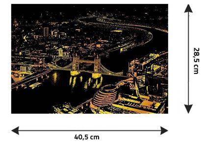 Obrázek z Stírací obraz - Londýn