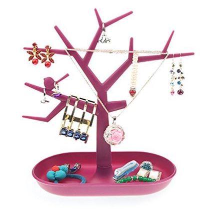 Obrázek z Strom na šperky - růžový
