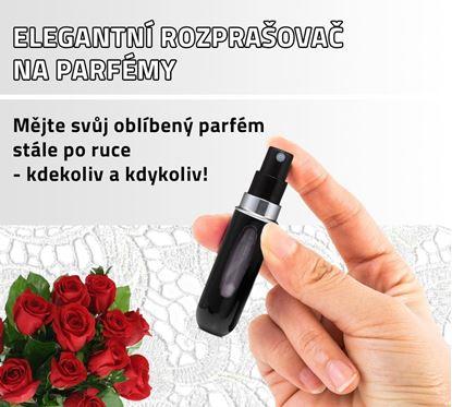 Obrázek Elegantní rozprašovač na parfémy - černý