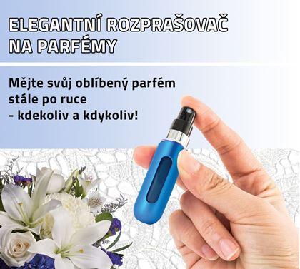 Obrázek z Elegantní rozprašovač na parfémy - modrý