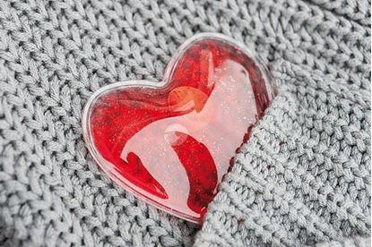 Obrázek Hřejivý polštářek ve tvaru srdce