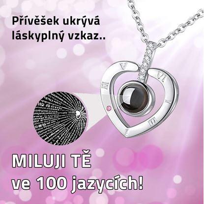 Obrázek Řetízek - Miluji Tě 100x jinak