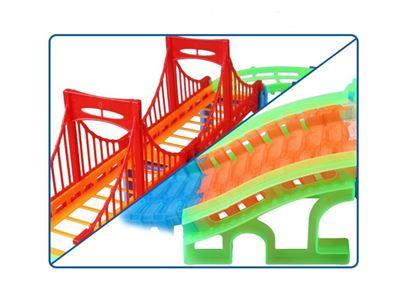 Obrázek Autodráha s mosty a autíčky