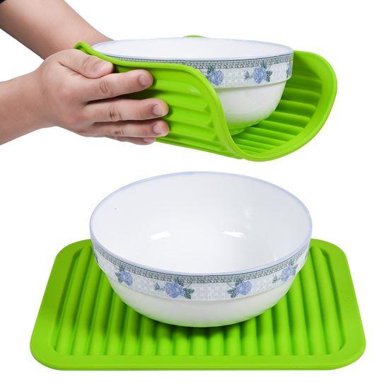 Obrázek z Kuchyňská silikonová podložka - zelená