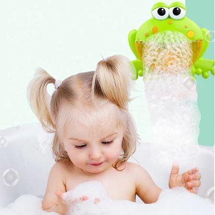 Obrázek z Bublinkovač do vany - žába