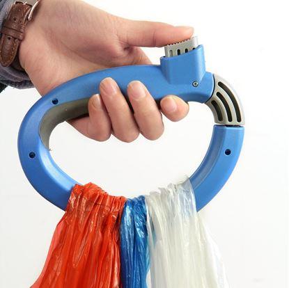 Obrázek Přenosný držák na tašky