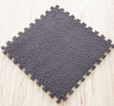 Obrázek Puzzle kobereček - 6 ks - šedý