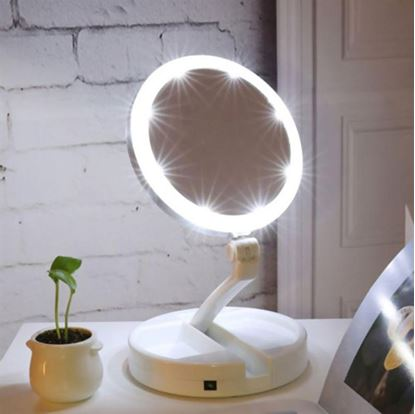 Obrázek Přenosné podsvícené zrcátko