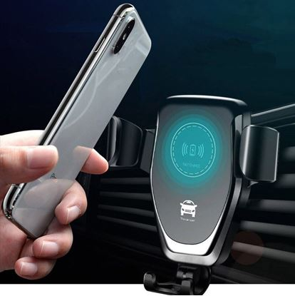 Držák telefonu s bezdrátovým nabíjením