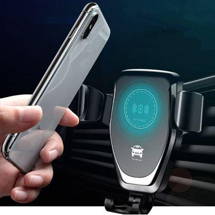 Obrázek z Držák telefonu s bezdrátovým nabíjením