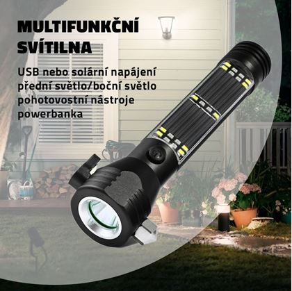 Obrázek z Multifunkční svítilna