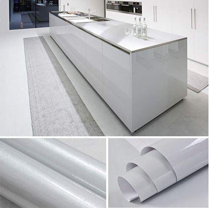 Obrázek z Fólie na obnovu kuchyňské linky - šedá