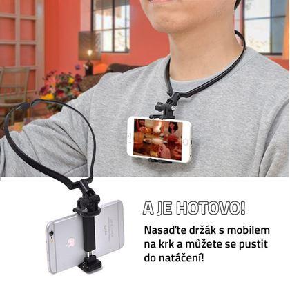Obrázek z Držák telefonu na natáčení