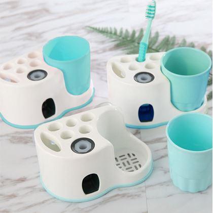 Obrázek z Koupelnový držák s dávkovačem pasty
