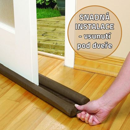 Obrázek z Izolační zarážka do dveří - 4 ks