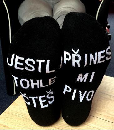 Obrázek Ponožky - Přines mi pivo 2 páry