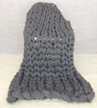 Obrázek z Příze pro ruční pletení - šedá