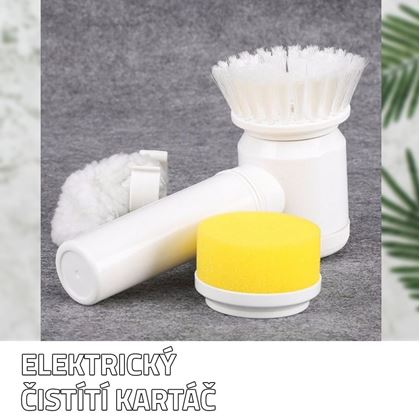 Obrázek z Elektrický čistící kartáč