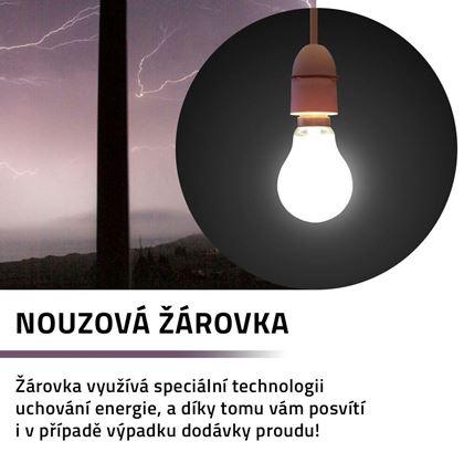Obrázek z Nouzová žárovka 3 ks