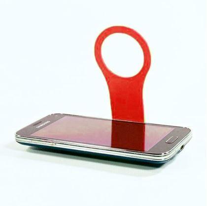 Obrázek z Držák mobilu - červený