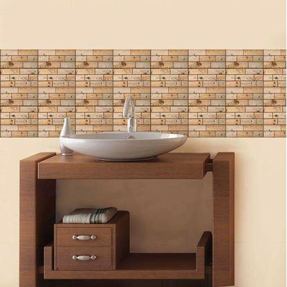 Obrázek 3D tapeta - dřevo