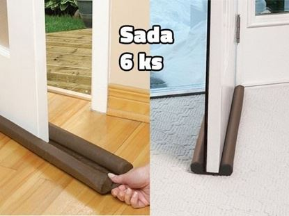 Obrázek Izolační zarážka do dveří - 6 ks