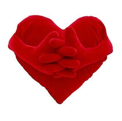 Obrázek z Polštář - srdce s rukama