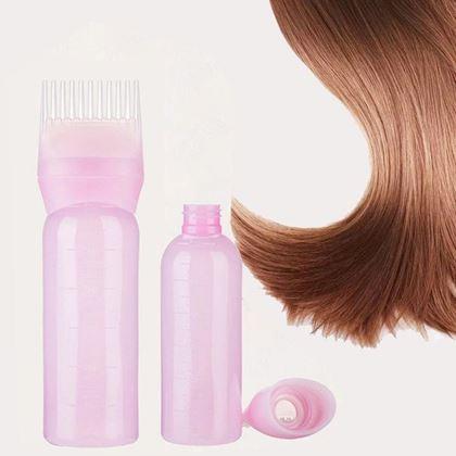 Obrázek z Lahvička s hřebenem na barvení vlasů