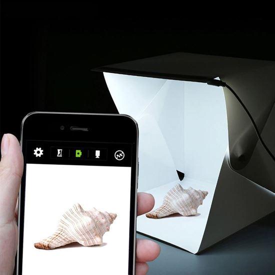 Mini fotobox s led osvětlením