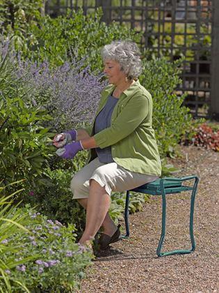 Multifunkční zahradní stolička