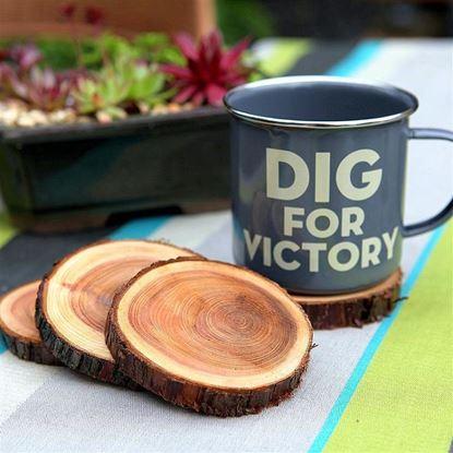 Dřevěný podtácek