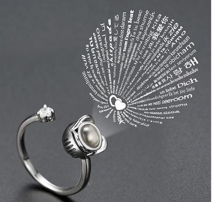 Stříbrné prstýnky