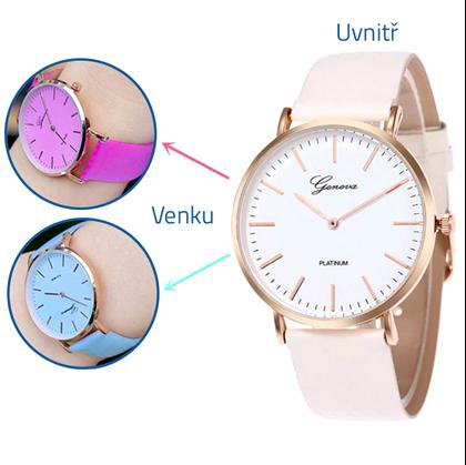 Barevné hodinky