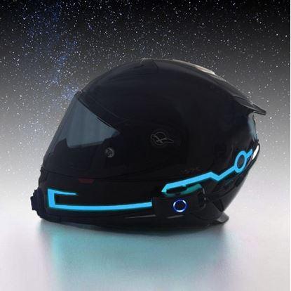Obrázek Svítící pásky na helmu