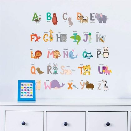 samolepky na zeď dětské